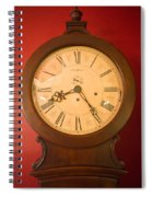 Grandfather Clock Top 1 Spiral Notebook
