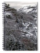Grandfather Mountain's Linville Peak  Spiral Notebook