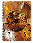 Grandfather Time Hdr Spiral Notebook