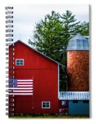 Grandfathers Barn Spiral Notebook