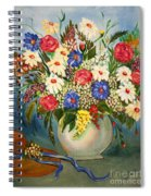 Grandma's Hat And Bouquet Spiral Notebook