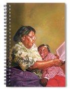 Grandmas Love Spiral Notebook