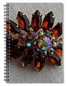 Grandmas Topaz Brooch - Treasured Heirloom Spiral Notebook