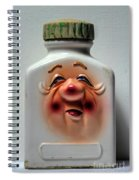 Grandpa's Pill Bottle II Spiral Notebook