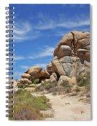 Granite Boulders In The Desert Spiral Notebook