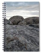 Granite Mountain Boulders Spiral Notebook
