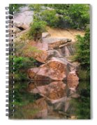 Granite Quarry And Reflections In The Missouri Ozarks Spiral Notebook