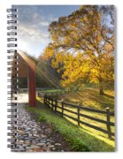 Granny Squirrel Bridge Spiral Notebook