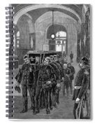 Grant Funeral, 1885 Spiral Notebook