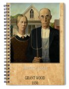 Grant Wood 1 Spiral Notebook