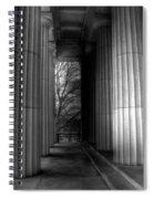 Grant's Tomb Columns Spiral Notebook