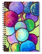 Grape De Chine Spiral Notebook