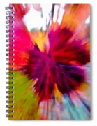 Grape Vine Burst Spiral Notebook