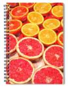 Grapefruit And Oranges Spiral Notebook