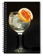 Grapefruit Gin Tonic Spiral Notebook