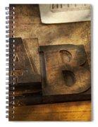 Graphic Artist - Ab Spiral Notebook