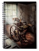 Graphic Artist - The Humble Printing Press Spiral Notebook