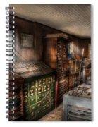 Graphic Artist - Upper And Lower Case  Spiral Notebook