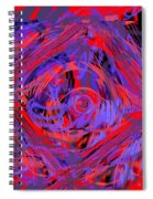 Graphic Explosion Spiral Notebook