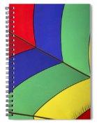 Graphic Hot Air Balloon Detail Spiral Notebook