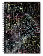 Graphic New York 3b Spiral Notebook