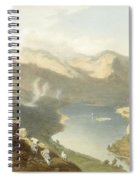 Grasmere From Langdale Fell, From The Spiral Notebook