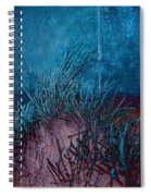 Grass Abstract Spiral Notebook