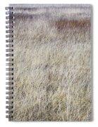 Grass Abstract Spiral Notebook