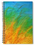 Grass Along The River Spiral Notebook