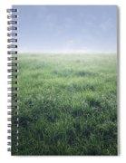 Grass And Sky  Spiral Notebook