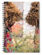 Grass Cuttings Spiral Notebook