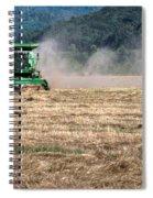 Grass Harvest 16000 Spiral Notebook