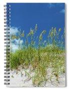 Grass On The Beach, Bill Baggs Cape Spiral Notebook