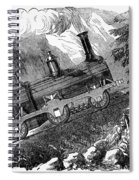 Grassi Locomotive, 1857 Spiral Notebook