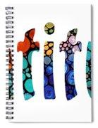 Gratitude 1 - Inspirational Art Spiral Notebook