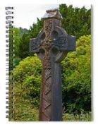 Grave Cross 4 Spiral Notebook