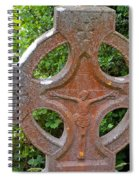 Grave Cross 5 Spiral Notebook