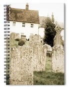 Grave Yard Spiral Notebook