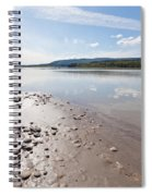 Gravel And Mud At Yukon River Near Dawson City Spiral Notebook