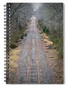 Gravel And Steel Spiral Notebook