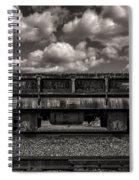 Gravel Train Spiral Notebook