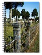 Graveyard Art Spiral Notebook