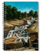Graveyard Falls Blue Ridge Parkway Spiral Notebook