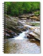 Graveyard Falls Spiral Notebook