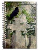 Graveyard Occupant Spiral Notebook