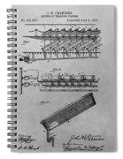 Graveyard Patent Spiral Notebook
