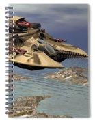 Gravity Tank Spiral Notebook