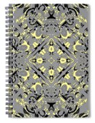 Gray And Yellow No. 1 Spiral Notebook