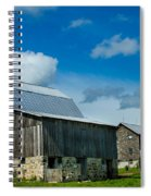 Gray Barn Spiral Notebook
