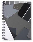 Gray Card Checker O Meter Spiral Notebook